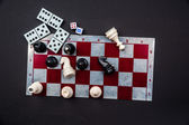 Various board games — Stock Photo