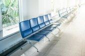 Airport waiting area — Stock Photo