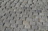 Grey Cobblestones Texture — Stock Photo