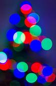 Blurred Christmas Tree Lights 3 — Stock Photo