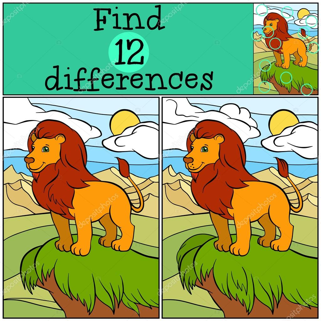 Find differences between two pictures for kids Find the Differences Game - A Kid's Heart