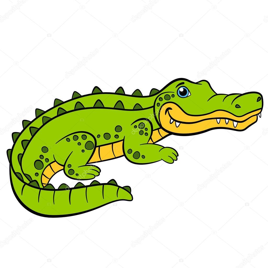 Картинка крокодил для детей