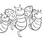 Happy flying ladybug — Stock Photo #52351575