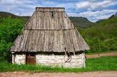 Montenegro. National park Durmitor. Old house. — Stock Photo