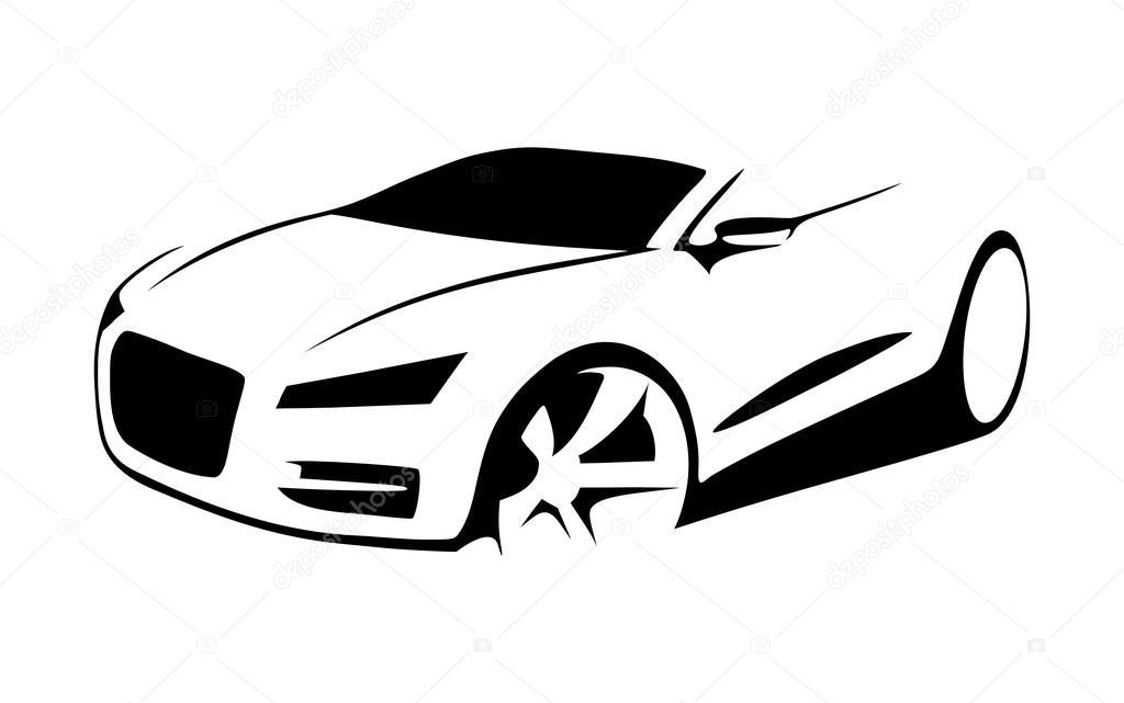 Vetor Silhueta De Carro Vetor De Stock 169 Kerpet 108287950