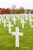 ケンブリッジのアメリカの墓地および記念碑 — ストック写真