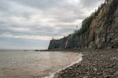 Cliifs of Cape Enrage along the Bay of Fundy — Stock Photo