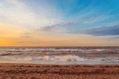 Ocean beach in the morning — Stock Photo