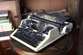 Máquina de impressão de velha — Fotografia Stock