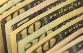 Banknotes dollars — Stock Photo