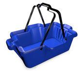 Plastik alışveriş sepeti — Stok fotoğraf