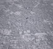 Map of downtown Milan — Stock Photo