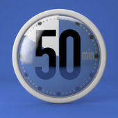 50 seconds stopwatch clock — Stock Photo