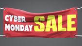 Cyber Montag Verkauf design — Stockfoto