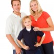 Family: Two Parents With One Child — Stock Photo #52109867