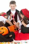 Halloween: Ready to Eat Halloween Candy — Stock Photo