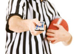 Referee: Ready to Change Channels — Stockfoto