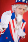 USA: Uncle Sam Pointing To Camera — Stok fotoğraf
