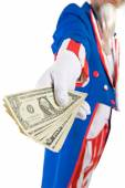 USA: Uncle Sam Offers Cash To You — Stock Photo