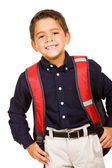 Student: Cute Student Ready for School — Stock Photo