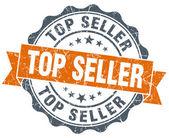 Top seller vintage orange seal isolated on white — Foto de Stock