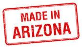 在亚利桑那州红场孤立邮票 — 图库矢量图片