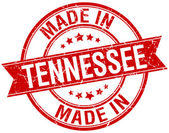 Made in Tennessee red round vintage stamp — Stock vektor