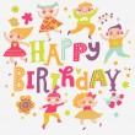 Stylish Happy birthday background — Stock Vector #75026653