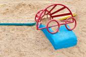 Toys to play with sand — Stock Photo