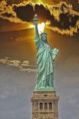 La statue de la liberté, new york — Photo