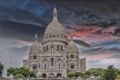 The Sacre Coeur in Paris — Stock Photo