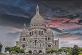 Sacre coeur in paris — Stockfoto