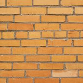 Red brick wall fragment composition — Foto Stock