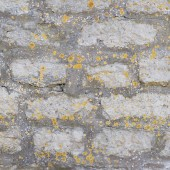Old brick castle's wall fragment — Foto Stock