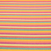 Striped wicker mat fragment — Stock Photo