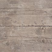 Old threadbare wooden surface — Stock Photo