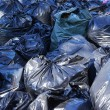 Постер, плакат: Full garbage bags