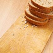 Chléb a semena — Stock fotografie