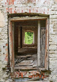 Antigo prédio abandonado — Foto Stock