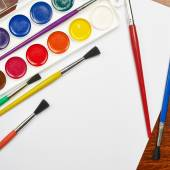 Hoja de papel en blanco — Foto de Stock