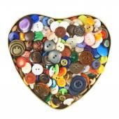 Heart shaped box — Stock Photo