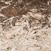 Surface made of pressed wood shavings — Stock Photo