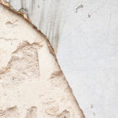 Old grungy concrete wall fragment — Stock Photo