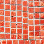 Ladrilhos cerâmicos ao quadrado — Fotografia Stock