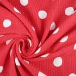 Fragment of polka dot cloth — Stock Photo #55630665