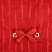 Fragment of striped red cloth — Stock Photo