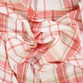 Fragment of squared cloth — Stock Photo