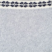 Fragment of knitted gray blouse — Stock Photo
