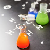 Chemistry tubes — Stock Photo