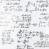 Math equations and formulas — Stock Photo